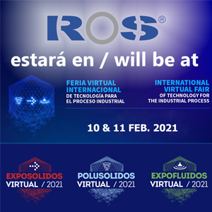 ROS DUCTING ASSISTERA AU SALON VIRTUEL INTERNATIONAL DE LA TECHNOLOGIE POUR LE PROCESSUS INDUSTRIEL